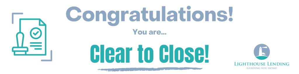 mortgage clear to close (client)